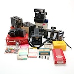 Kodak Brownie, Agfa Shur-Shot, and Other Still Cameras and Accessories