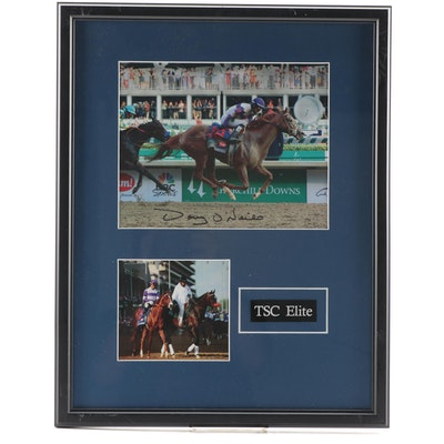 """I'll Have Another"" Kentucky Derby Winner Photograph Signed by Doug O'Neil"