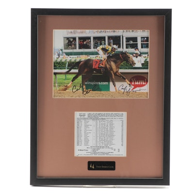"Signed Photo Print of 2007 Kentucky Derby Winner ""Street Sense"""