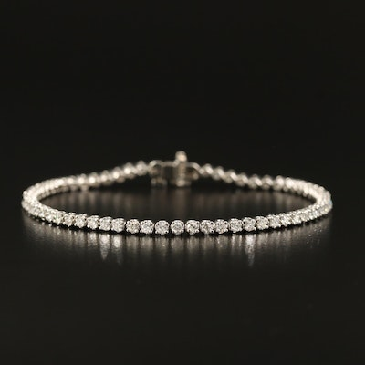 14K 1.92 CTW Diamond Tennis Bracelet