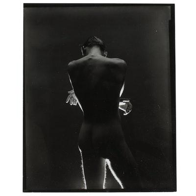 George Platt Lynes Silver Gelatin Print of Male Nude