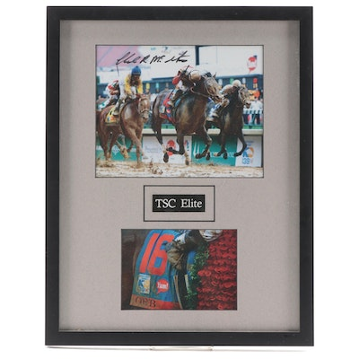 "Orb 2013 Kentucky Derby Winner Photo Montage, Signed by Trainer ""Shug"" McGaughey"