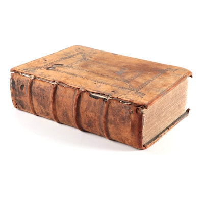 Leather Bound 1634 King James Bible