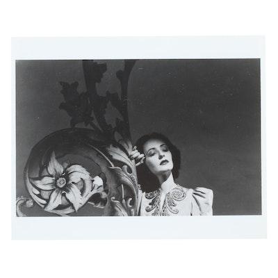 C-Print after George Platt Lynes of Woman, Late 20th Century