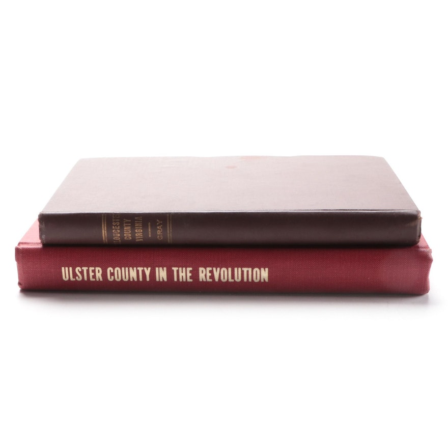 """""""Ulster County in the Revolution"""" and """"Gloucester County, Virginia"""" Books"""