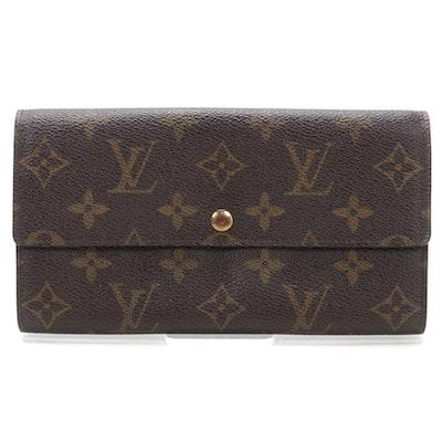 Louis Vuitton Pochette-Porte Monnaie Credit in Monogram Canvas