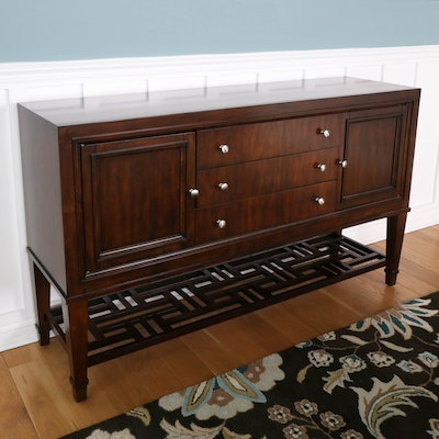Hooker Furniture Wood Sideboard in Espresso Finish