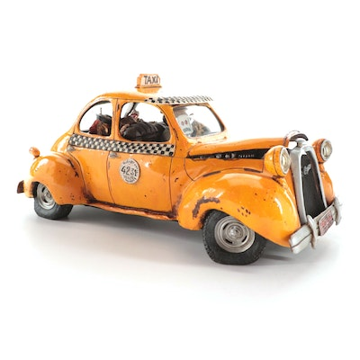 "Guillermo Forchino ""Le Taxi"" Limited Edition Figurine, 2004"