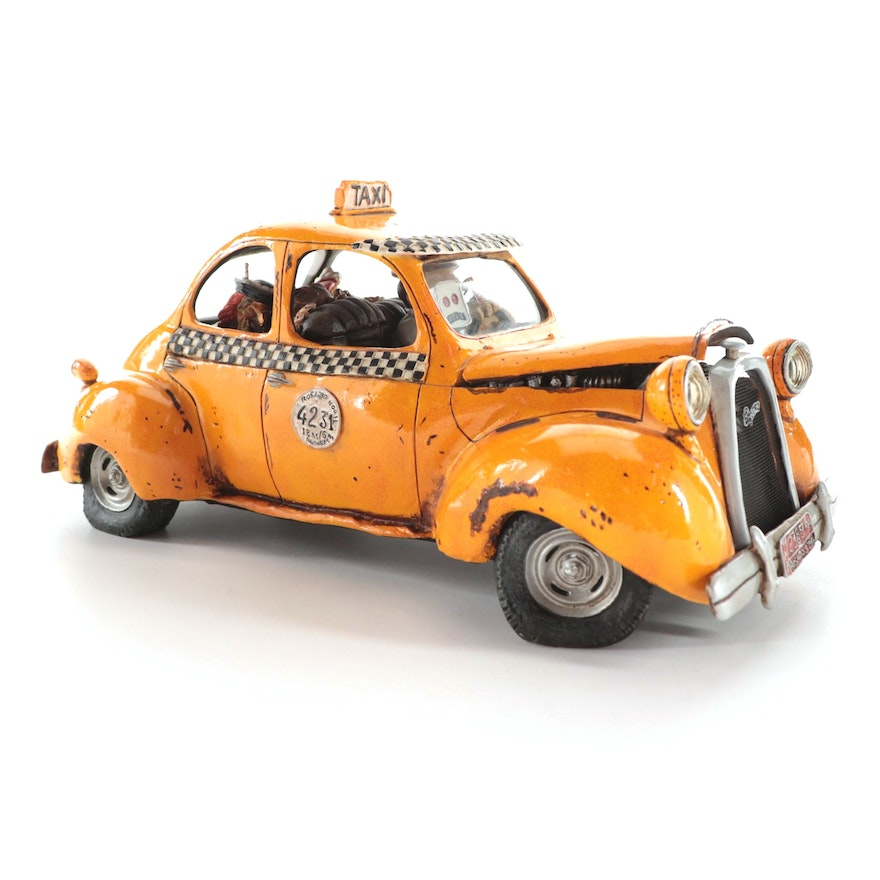"""Guillermo Forchino """"Le Taxi"""" Limited Edition Figurine, 2004"""