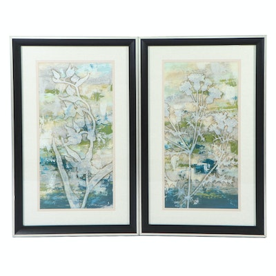 "Decorative Giclées ""Gossamer Blooms I"" and ""Gossamer Blooms II"""
