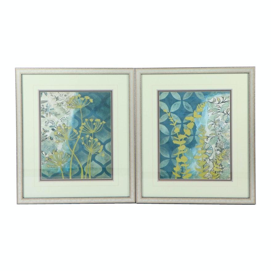 "Giclées ""Peridot Botanical I"" and ""Peridot Botanical II"""