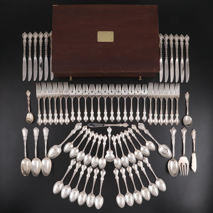 "International Silver ""Du Barry"" Sterling Flatware with Other Flatware, 1968–2009"