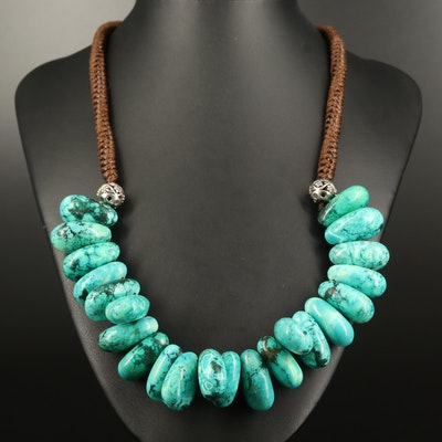 Magnesite Beaded Necklace