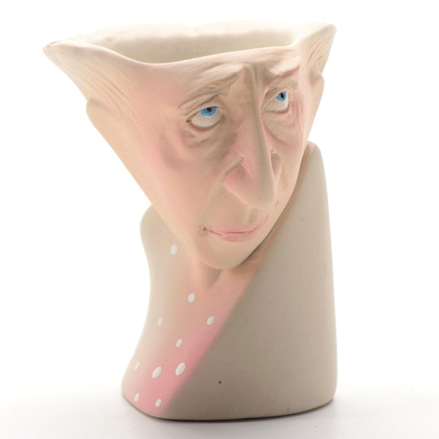 "Fecher-Gramstad Figural Ceramic from ""The Egg Cups"" Series"