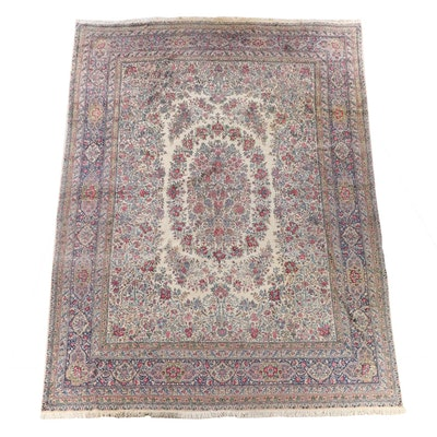 13'1 x 17'11 Hand-Knotted Persian Tabriz Room Size Wool Rug