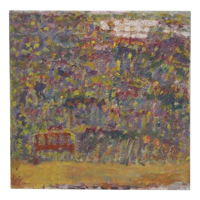 Jerald Mironov Abstract Oil Painting