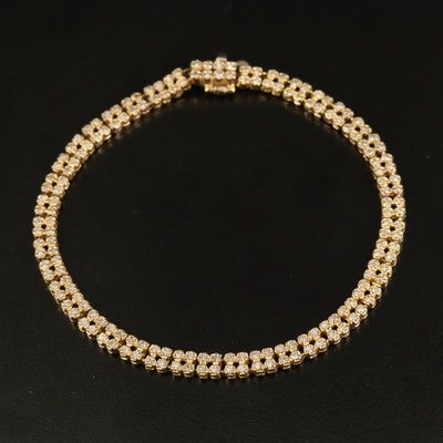 14K 1.63 CTW Diamond Bracelet