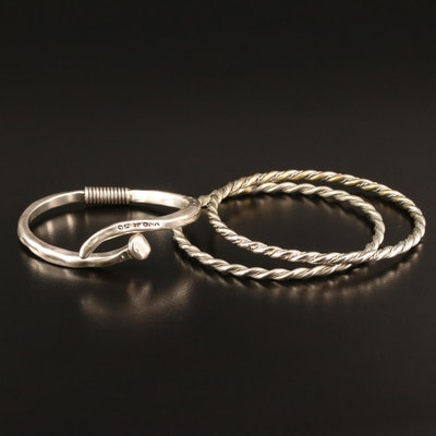 Bracelets Featuring Uno De 50 Sterling Silver Nail Cuff