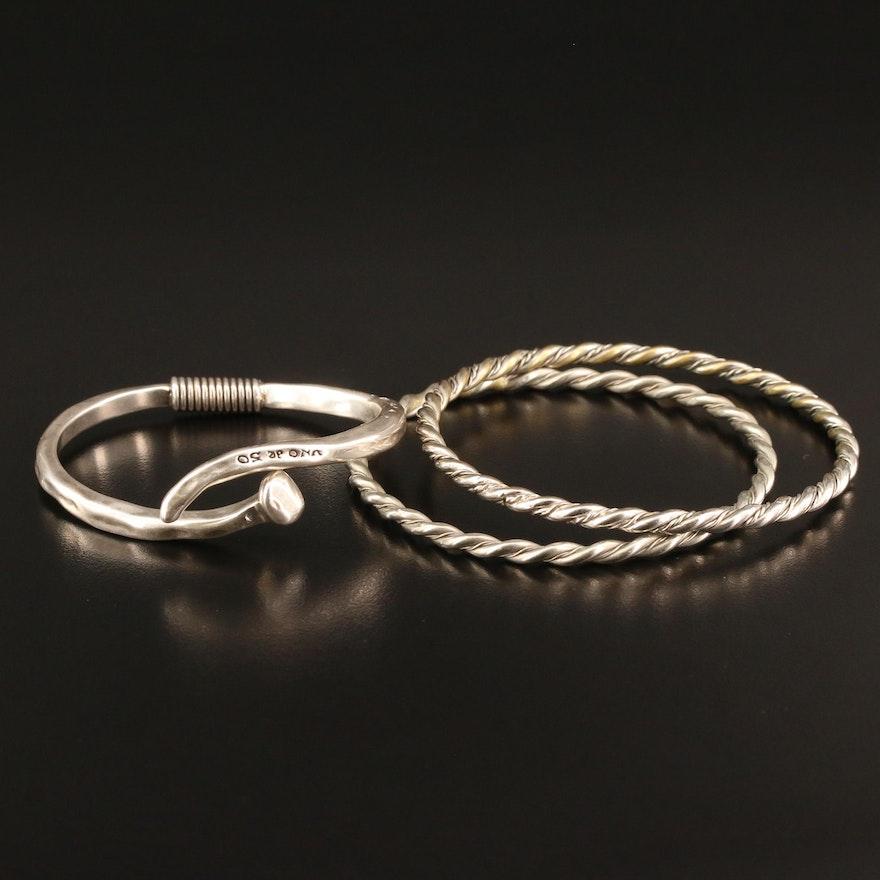 Bracelets Featuring Uno De 50 Sterling Silver Nail Cuff
