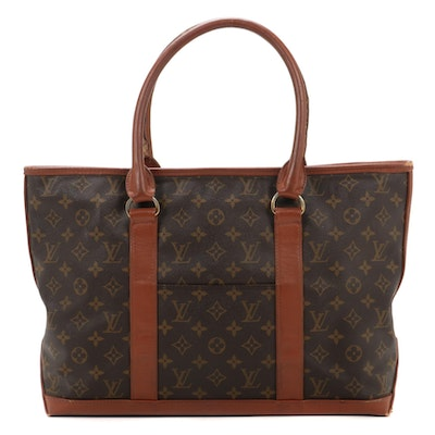 Louis Vuitton Sac Weekend PM in Monogram Canvas and Leather