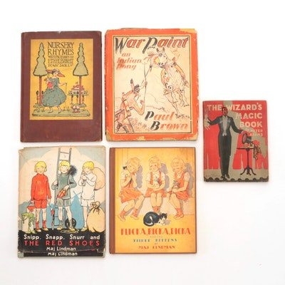 Children's Books and Nursery Rhymes From the 1930s - 1950s