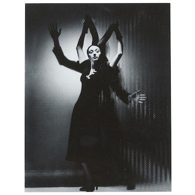 George Platt Lynes Reprinted Silver Gelatin Photograph of Toni Sorel