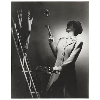 "George Platt Lynes Reprinted Silver Geltain Photograph ""Christopher Wallen"""