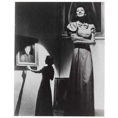 George Platt Lynes Reprinted Silver Gelatin Photograph of Interior Scene