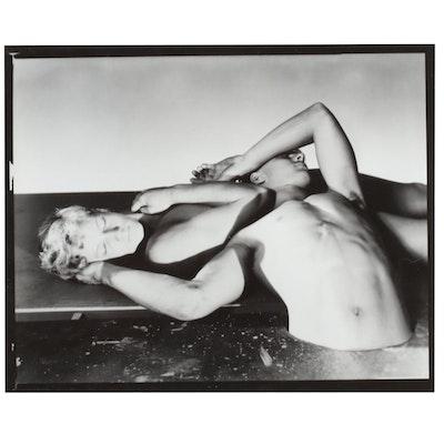 George Platt Lynes Reprinted Silver Gelatin Photograph of Figures