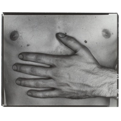 "George Platt Lynes Reprinted Silver Gelatin Photograph ""Ralph McWilliams,"" 1953"