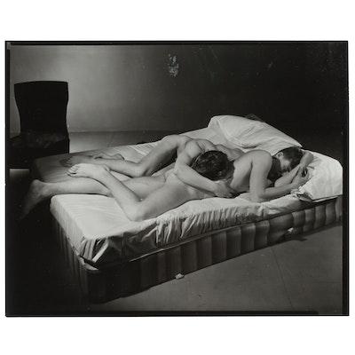 George Platt Lynes Silver Gelatin Print of Male Nudes