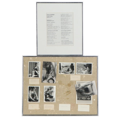 Sheila Bonser Paper Making Photographs and Curriculum Vitae
