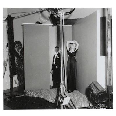 """George Platt Lynes's Studio"" Silverprint Photograph"