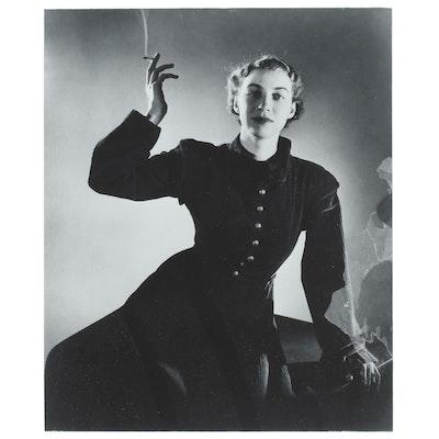 "George Platt Lynes Silver Gelatin Photograph ""Mildred Russell Lynes"""