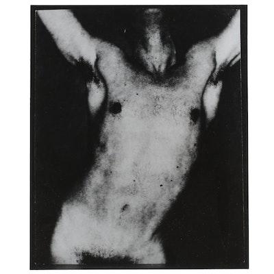 George Platt Lynes Silver Gelatin Print of Male Torso