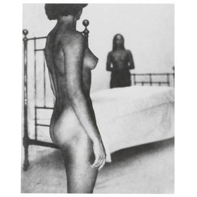George Platt Lynes Reprinted Silver Gelatin Photograph of Nude Figures