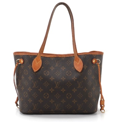 Louis Vuitton Neverfull PM in Monogram Canvas and Vachetta Leather