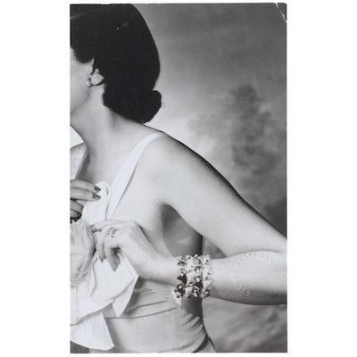 George Platt Lynes Reprinted Silver Gelatin Photograph of Female Figure