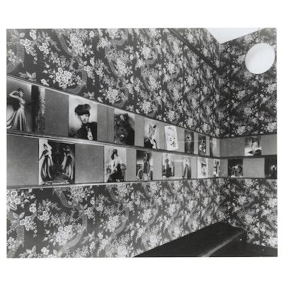George Platt Lynes Reprinted Silver Gelatin Photograph of Exhibition