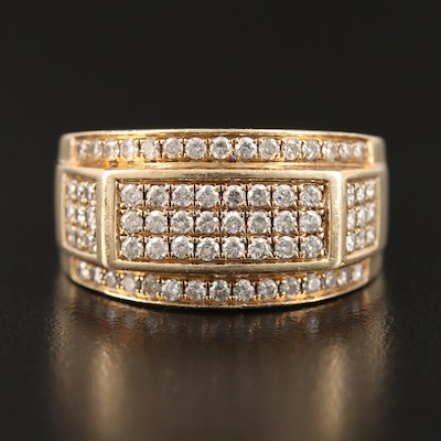 10K 1.02 CTW Diamond Ring