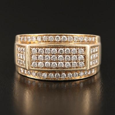 10K 1.02 CTW Diamond Ring