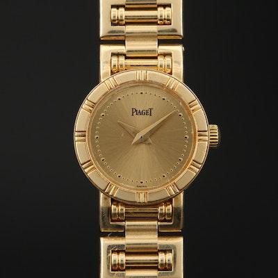 Piaget Dancer Mini 18K Yellow Gold Quartz Wristwatch