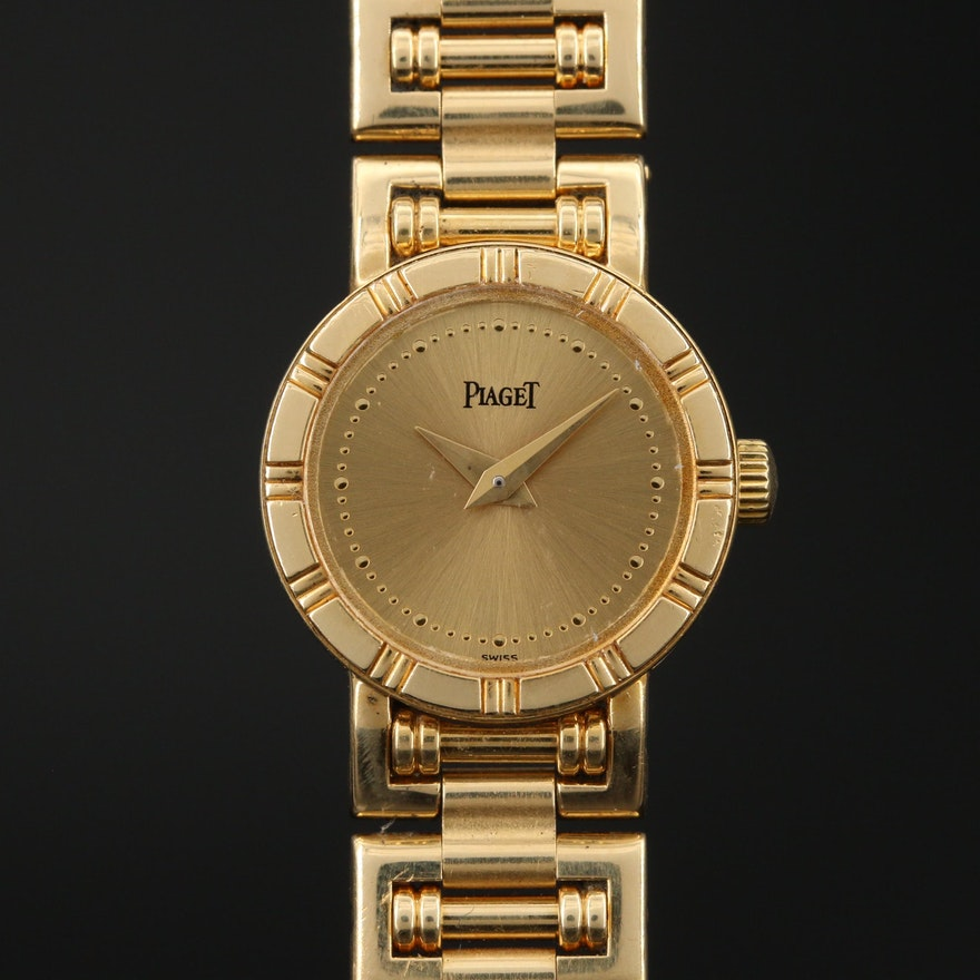 Piaget Dancer Mini 18K Yellow Gold Quartz Wristwatch