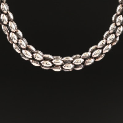 Caviar by Lagos Sterling Silver Beaded Necklace