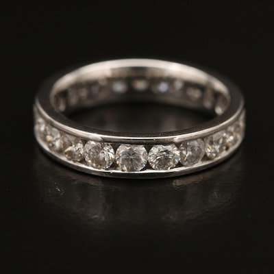 14K Channel Set 1.80 CTW Diamond Eternity Band