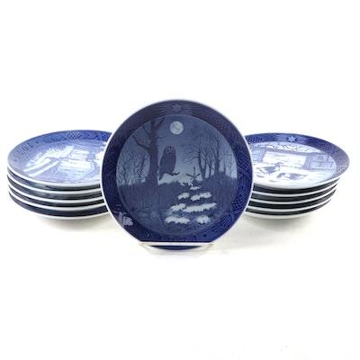 Royal Copenhagen Commemorative Plates, Mid to Late 20th Century
