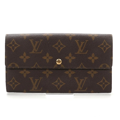 Louis Vuitton Pochette Porte-Monnaie Credit in Monogram Canvas