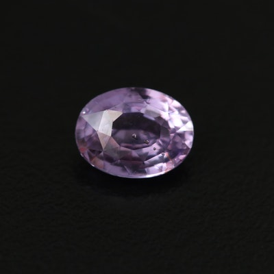 Loose 2.10 CT Color Change Sri Lankan Unheated Sapphire with GIA Report