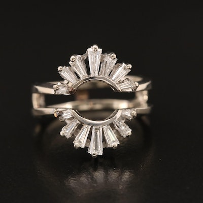 14K 1.05 CTW Diamond Ring Jacket