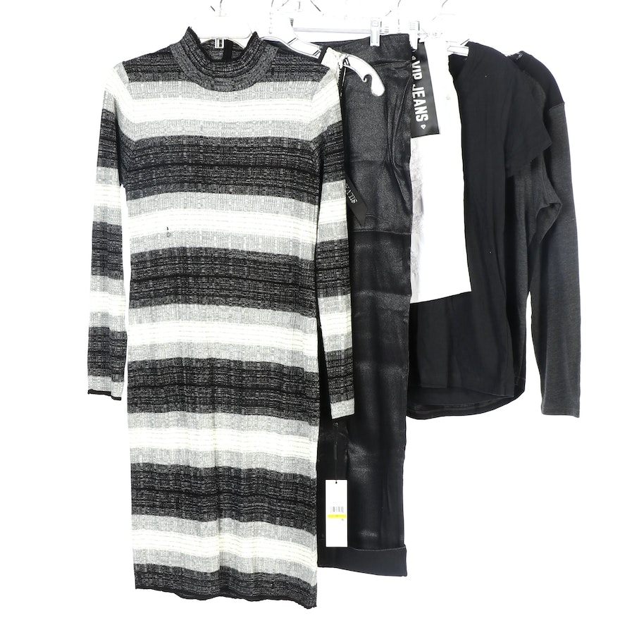 Calvin Klein Sweater Dress and Other Brands Dress, Pants, Shorts and Shirts